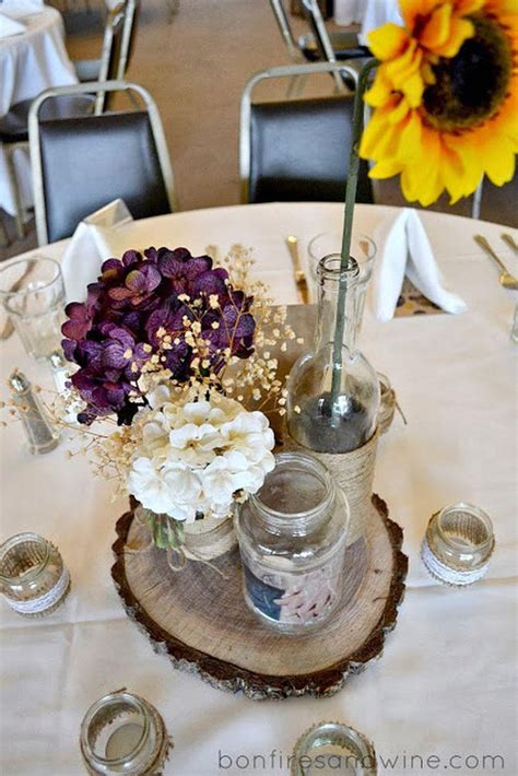 Wedding Table Decor Flowers by 37 Trendy Purple Wedding Table Decorations Table