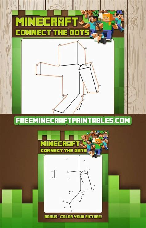 printable minecraft quiz free minecraft printables free printable minecraft dot to