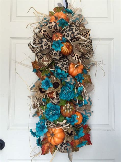 autumn door swags 275 best images about wreaths blue topiaries