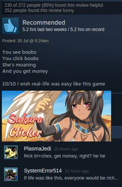 Nsfw Meme - nsfw steam user reviews know your meme