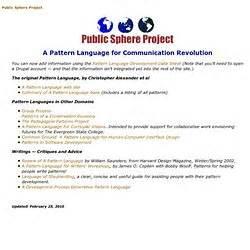 pattern language project pattern language pearltrees