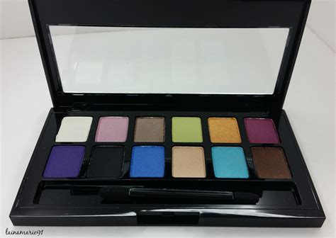 Maybelline Eyeshadow Palette Review Lainamarie91 Maybelline The Brights 12 Pan Eyeshadow