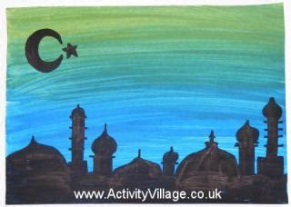 eid card templates ks1 eid crafts