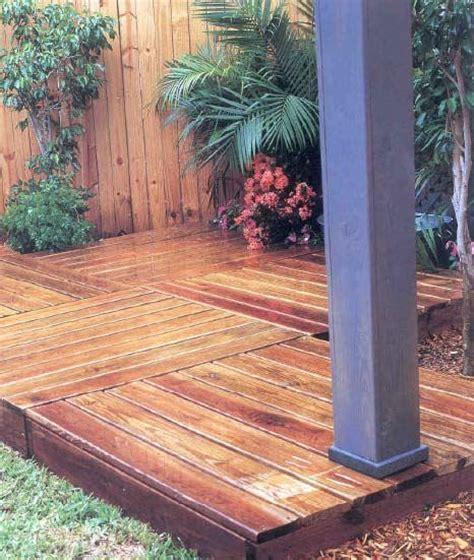 temporary deck 25 best ideas about pallet decking on pinterest pallet