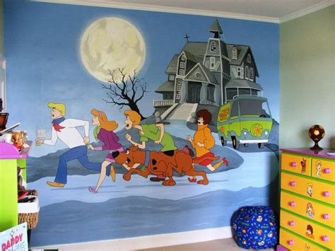 scooby doo bedroom scooby doo mural scooby doo pinterest scooby doo and