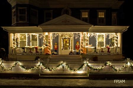 christmas decorating outdoor columns outdoor decorating ideas for an amazing porch
