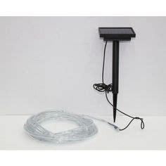 solar rope lights home depot hton bay 12ft rope light kit clear ml 2w 12 120v