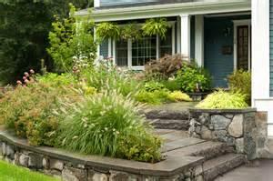 front entrance landscape design traditional landscape boston by terrascapes landscape design