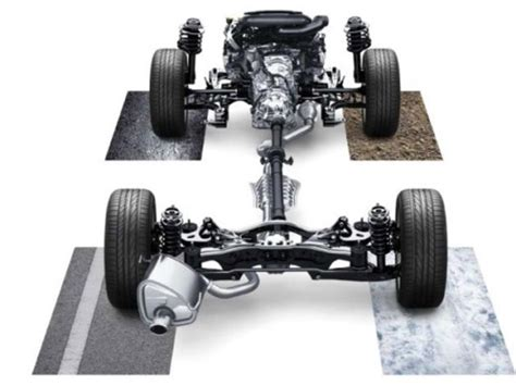 subaru symmetrical awd all wheel drive systems and how they work photos cnet