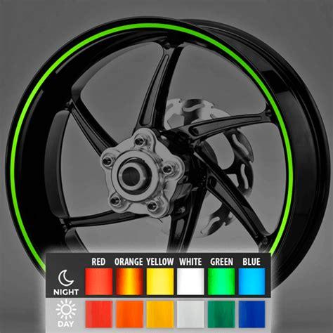 Felgenrandaufkleber Motorrad Test by Neon Kit Felgenrandaufkleber 6 Mm