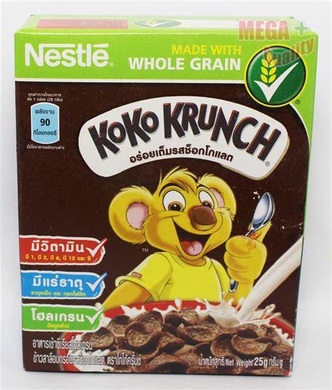 koko krunch nestle koko krunch chocolate breakfast cereals made with