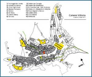 Vernazza Italy Map by Vittoria Rooms Vernazza Cinque Terre Italy