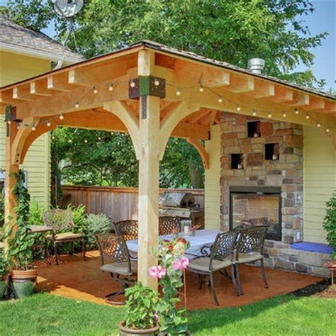 Small Gazebo For Patio Patio Designs With A Firepit