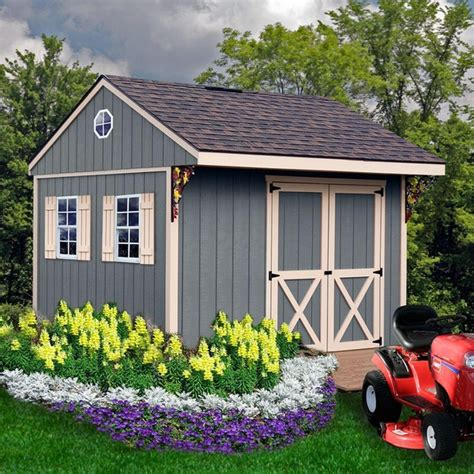 10x10 Wood Shed by Northwood 10 X 10 Wood Shed Kit