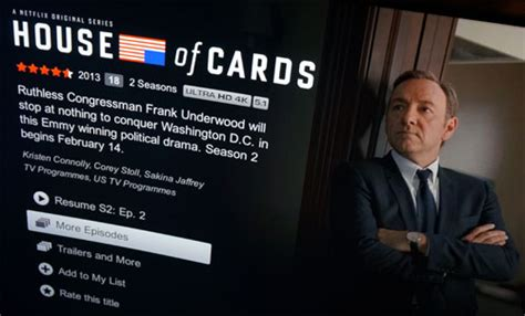 is house of cards on netflix netflix 4k streaming house of cards season 2 has gone live