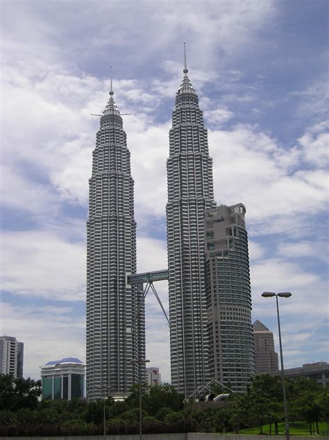 How Many Floors In Towers Malaysia by Kuala Lumpur