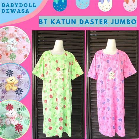 Daster Gamis Katun supplier baju tidur katun daster jumbo dewasa murah di