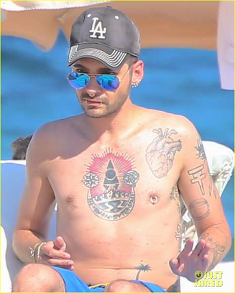 tokio hotel s tom amp bill kaulitz go shirtless in ibiza