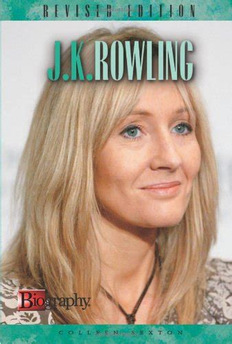 biography books about jk rowling biography of author colleen a sexton booking appearances