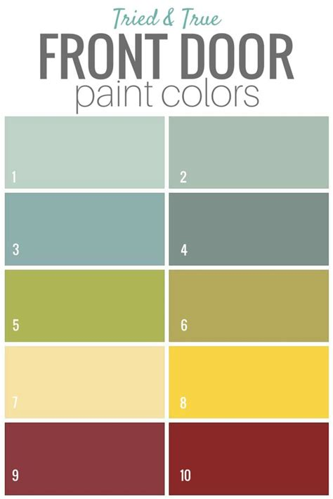 25 best exterior door colors trending ideas on front door paint colors painted