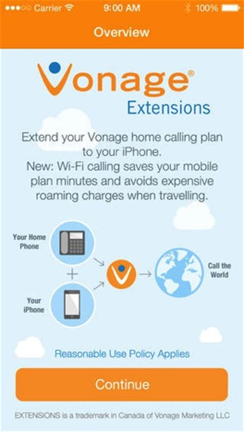 vonage extensions launches in canada extend home calling