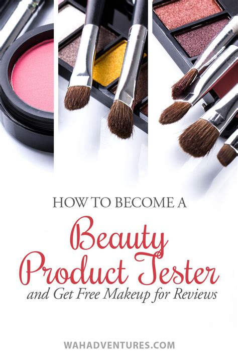 how to become a product tester and get free makeup for reviews