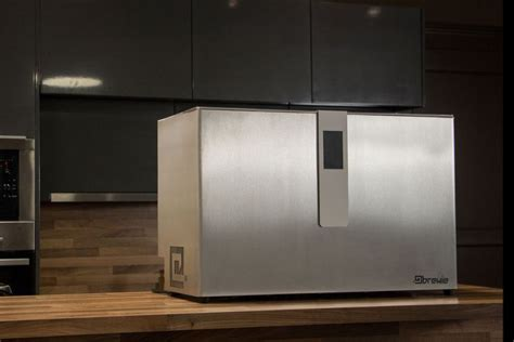 brewie is fully automated home brewery for enthusiasts
