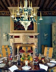 Crystal Branch Chandelier Inside The Opulent Homes Of Iconic Fashion Designer