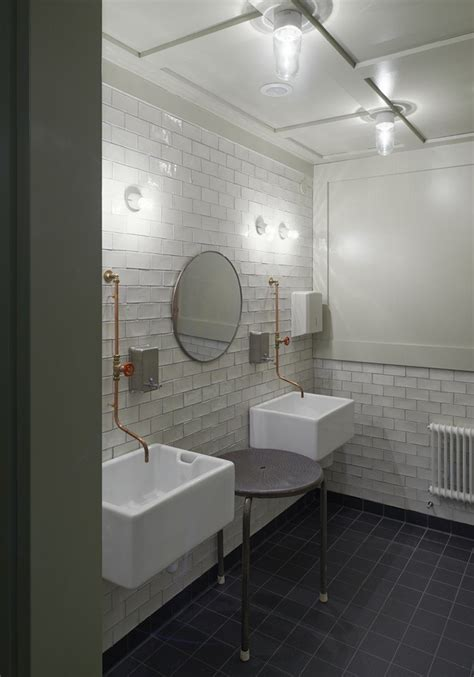 restaurant bathroom design oaxen krog slip a marine inspired restaurant in stockholm remodelista