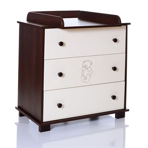 Baby Change Table Chest Of Drawers Baby Chest Of Drawers Baer Brown Changing Table Unit Children Room Lcp