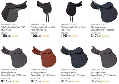 silla de montar inglesa sillas de montar a caballo baratas online espa 241 olas e
