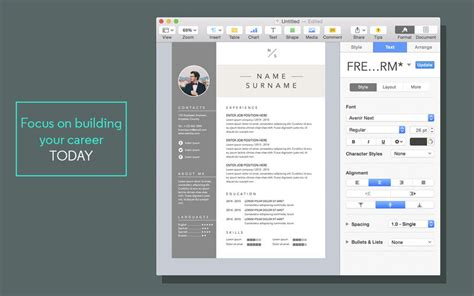 Mac Pages Resume Templates by Pages Templates Resume Resume Cv Templates For Pages On