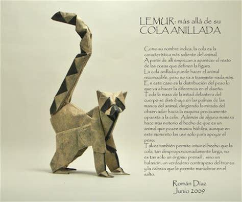 Origami Lemur - dosis diaria de origami la cola lemur