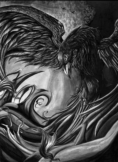 Crow of Ombra by KikiFlamer on DeviantArt