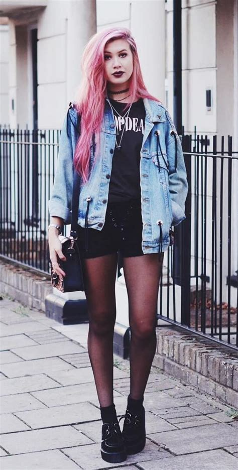 Looks To Check Out by 25 More Grunge Looks To Check Out Page 18 Of 25