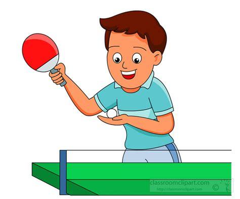 Meja Carrom recreation clipart boy table tennis ping pong classroom clipart