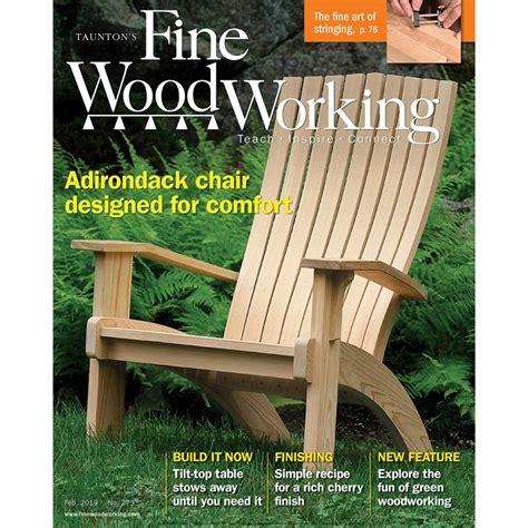 fine woodworking magazine subscription