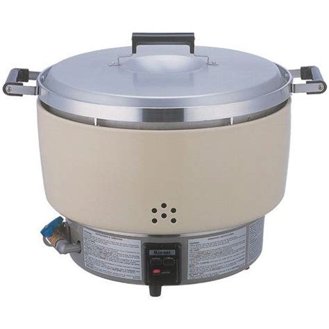 Rice Cooker Solid thunder rinnai 55 cup rice cooker gas nsf