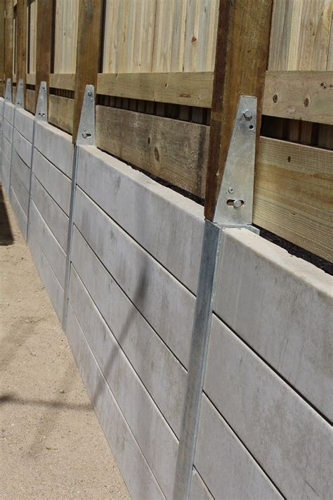 Diy Retaining Wall Concrete Sleepers by 25 Best Ideas About Sleeper Retaining Wall On