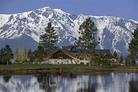 Wedding Venues Lake Tahoe by Rustic Wedding Venue In Lake Tahoe With Snow Covered