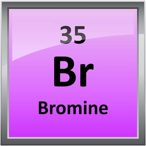 Periodic Table Br by 035 Bromine Science Notes And Projects
