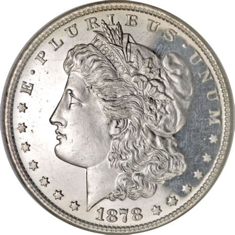 1878 silver dollar 1878 8tf silver dollar coin values images facts