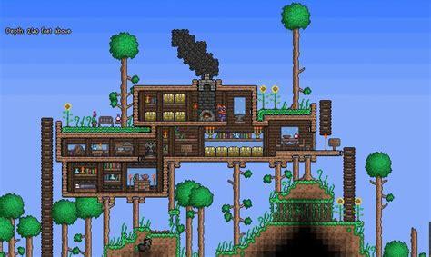 terraria tree house terraria tree house wallpaper