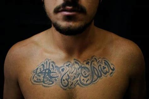 tattoo is halal ap photos shiite tattoos a show of pride amid tensions