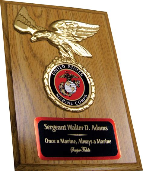 Handcrafted Plaques - custom plaques usmc pictures to pin on pinsdaddy