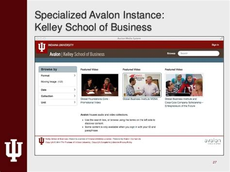 Kelley Mba Canvas Login by Open Repositories 2015 Avalon Media System Community