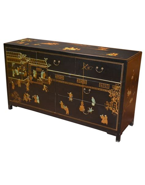 Commode En Cuir by Commode 7 Tiroirs Meuble Chinois En Cuir Mobilierdasie
