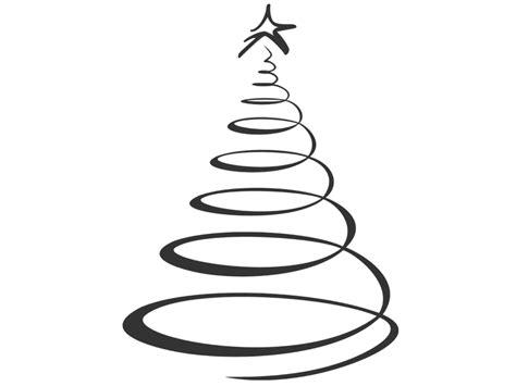 wandtattoo weihnachtsbaum modern skizziert