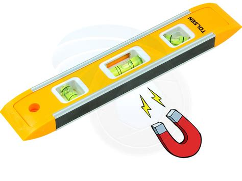 Waterpass Magnet 9 Inch Magnetic Torpedo Level 9 Inch Murah mini tool box pocket 9inch 22 5cm magnetic torpedo