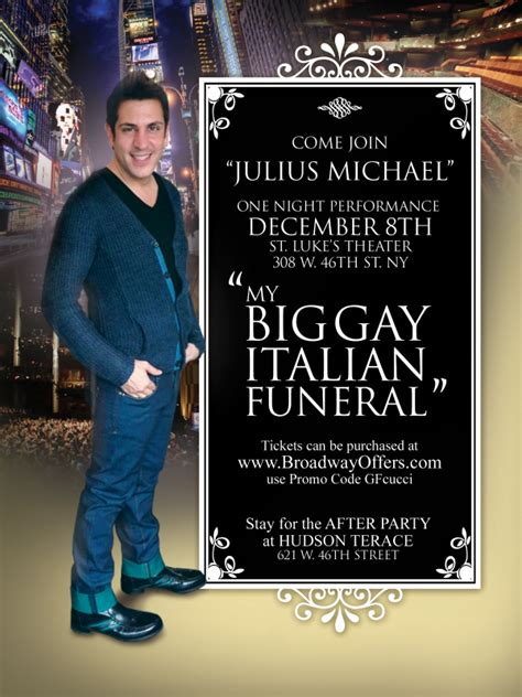 My Big Gay Italian Wedding – My Big Gay Italian Funeral   Julius Michael Scarsdale Hair